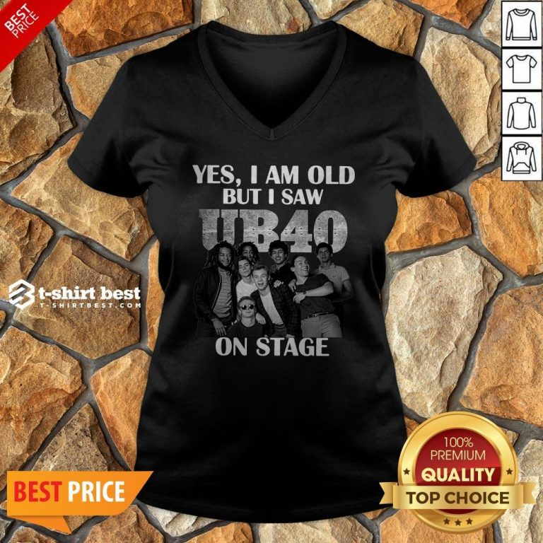 Yes I Am Old But I Saw UB40 Reggae And Popon Band Stage V-neck