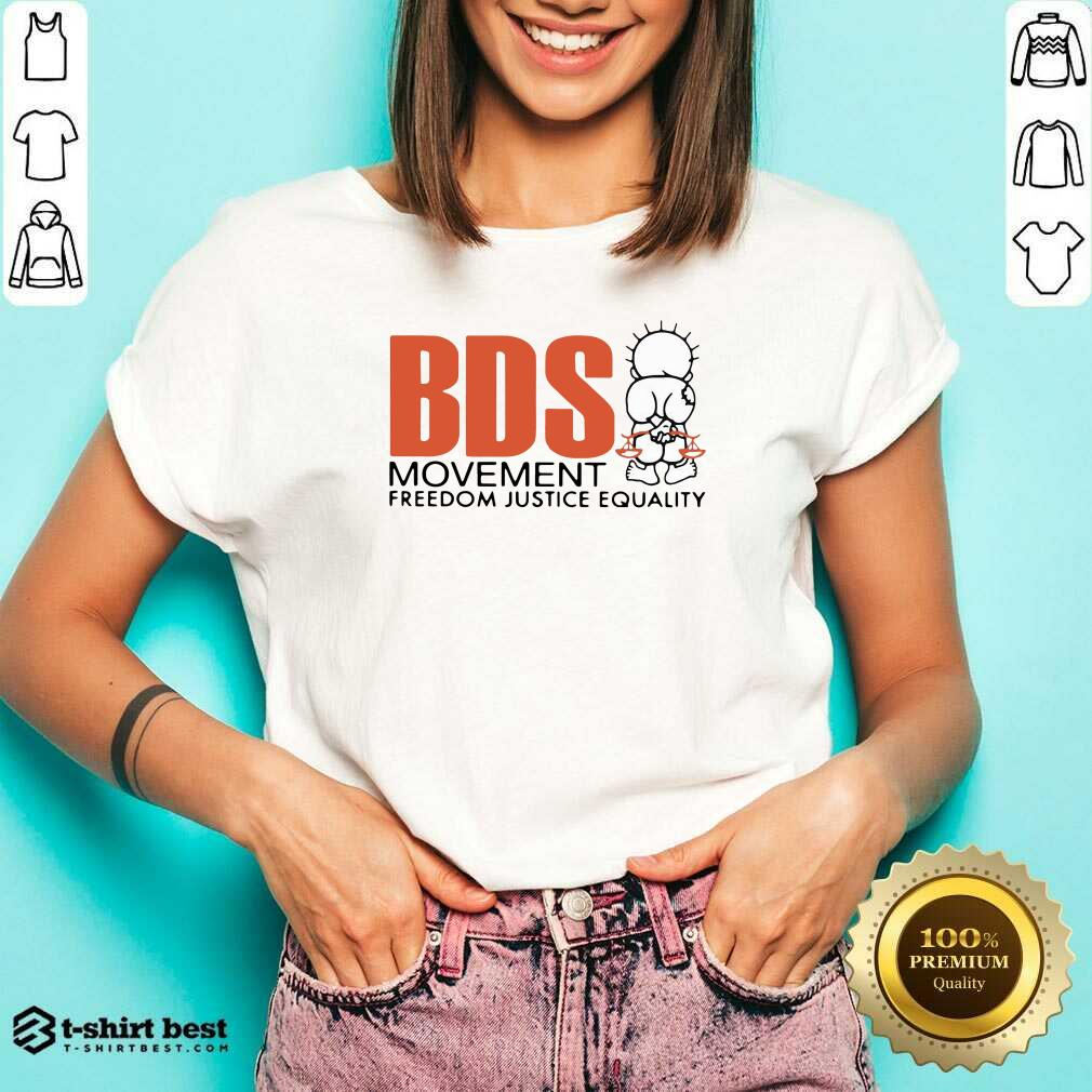 Awesome Bds Movement Freedom Justice Equality V-neck