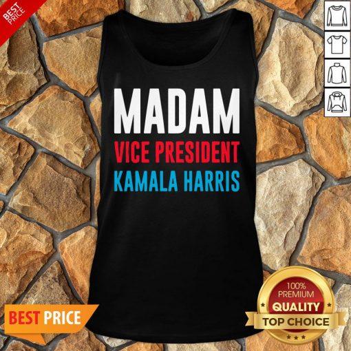 Awesome Madam Vice President Kamala Harris Tank Top