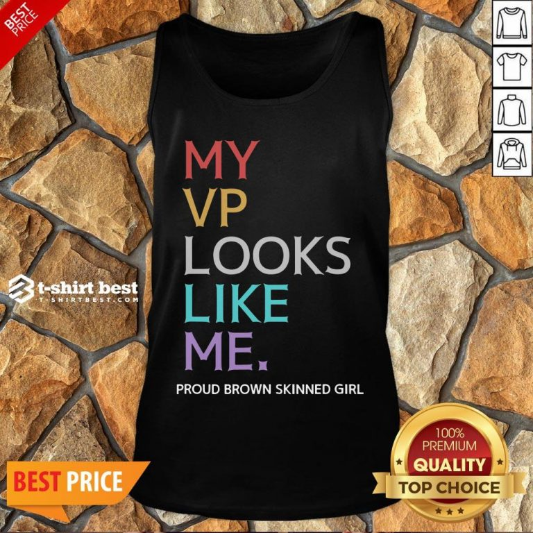 Awesome My Vp Looks Like Me Great Black Tank Top