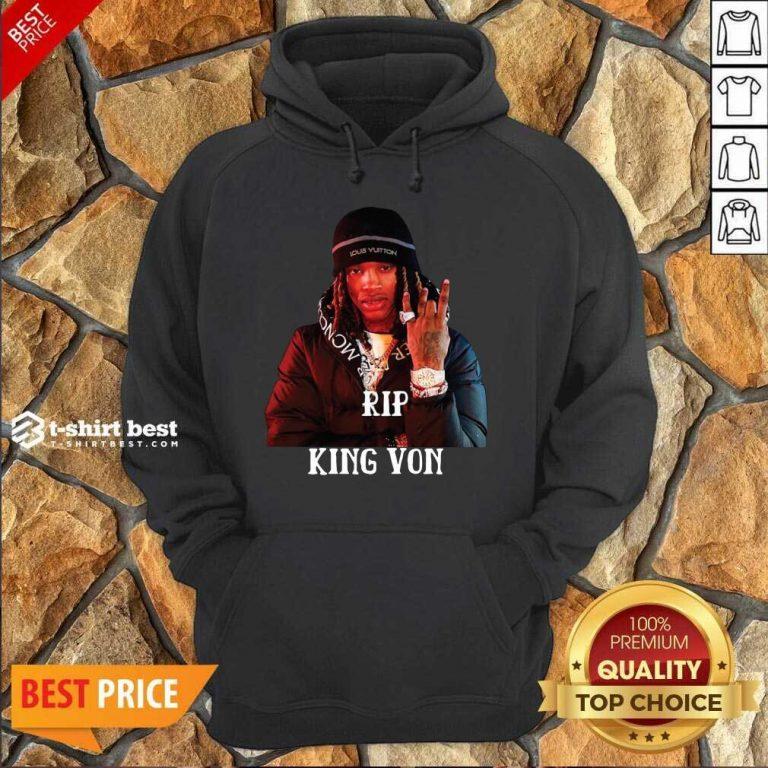 Rip King You Hoodie - Design By 1tees.com