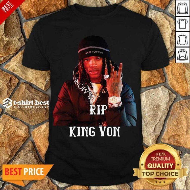 Awesome Rip King You Shirt - Design By 1tees.com