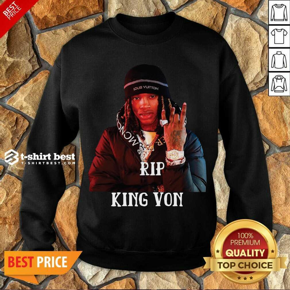 Rip King You Sweatshirt - Design By 1tees.com