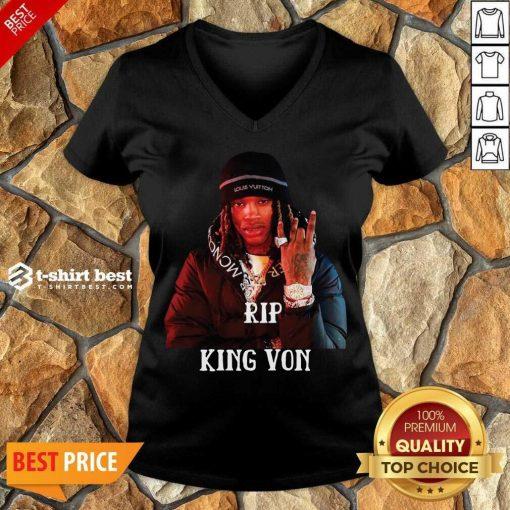 Rip King You V-neck - Design By 1tees.com