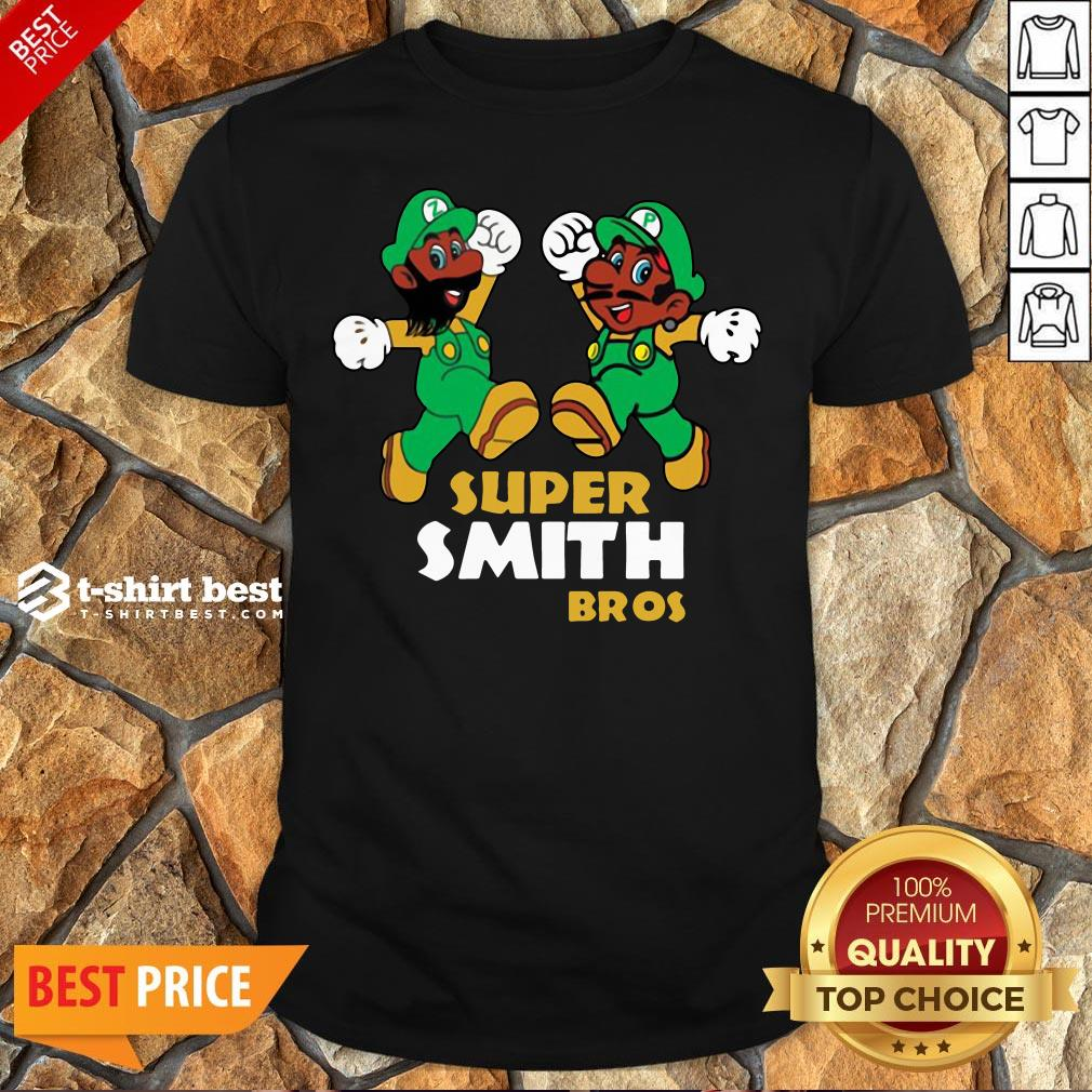 Awesome Super Mario Super Smith Bros Shirt