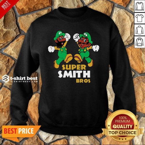 Awesome Super Mario Super Smith Bros Sweatshirt