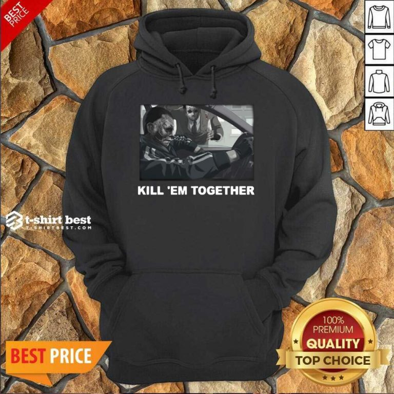 Horror Michael And Jason Voorhees Kill 'em Together Hoodie - Design By 1tees.com