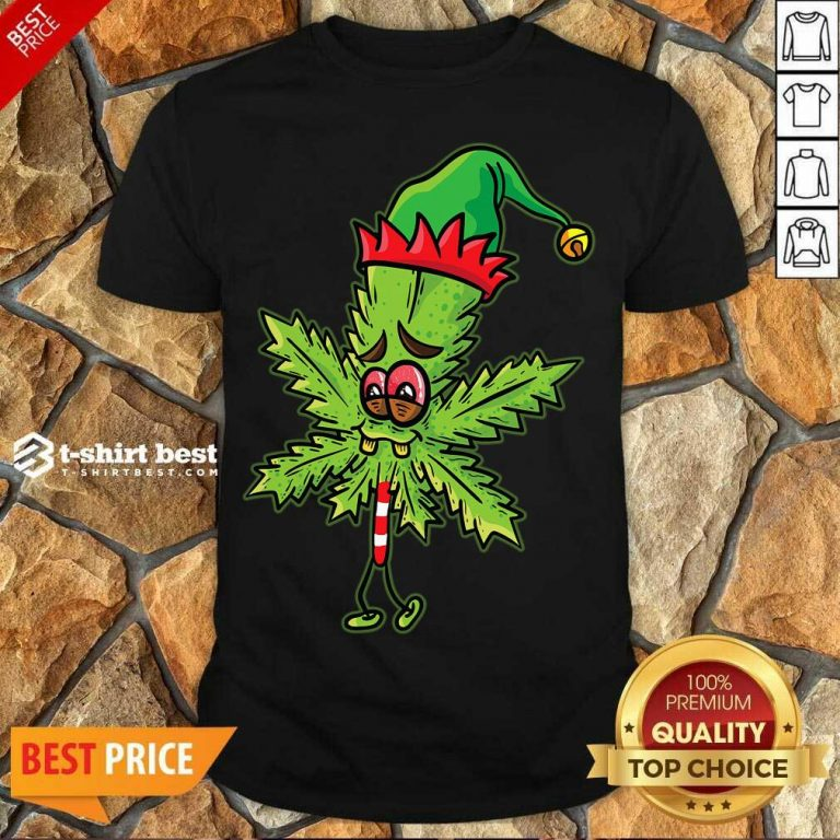 Funny Lick Cannabis Candy Christmas Shirt - Design By 1tees.com