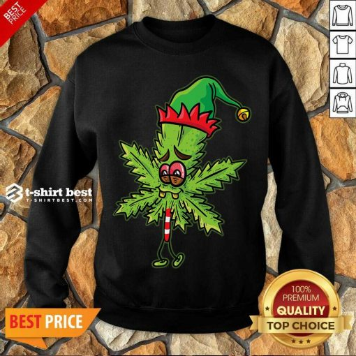 Lick Cannabis Candy Christmas Sweatshirt - Design By 1tees.com
