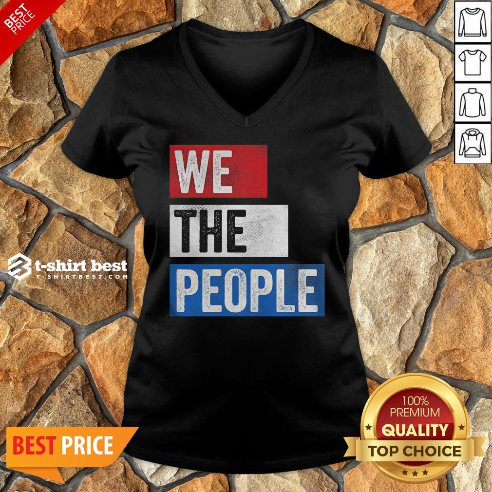 Funny We The People Election V-neck