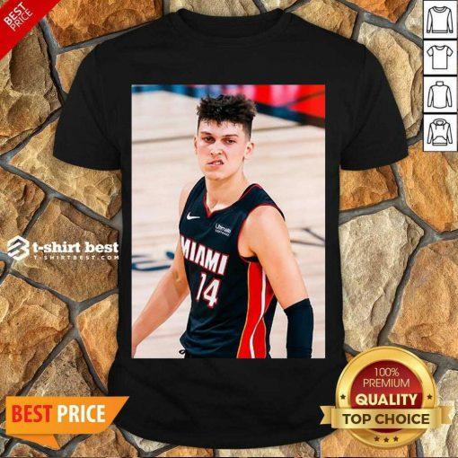 Good Court Culture Tyler Herro Snarl Shirt - Design By 1tees.com