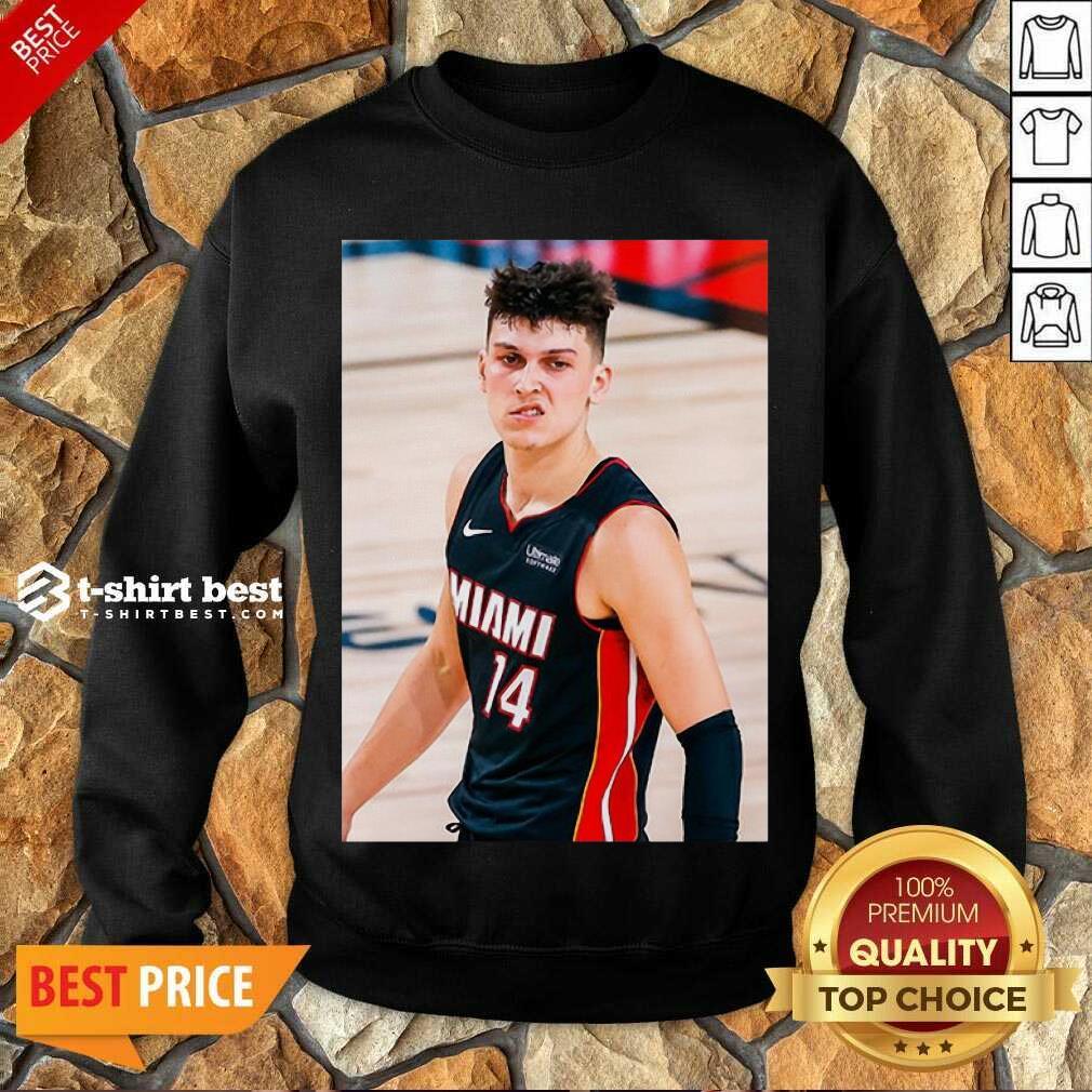 Court Culture Tyler Herro Snarl Sweatshirt - Design By 1tees.com