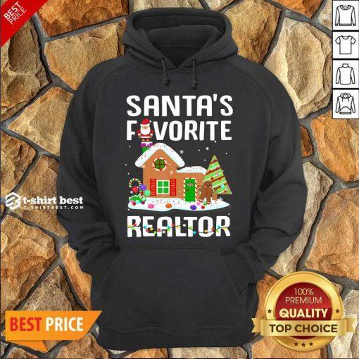 Santa's Favorite Realtor Anti Covid-19 Merry Christmas 2020 Hoodie - Design By 1tees.com