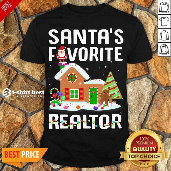 Good Santa's Favorite Realtor Anti Covid-19 Merry Christmas 2020 Shirt - Design By 1tees.com