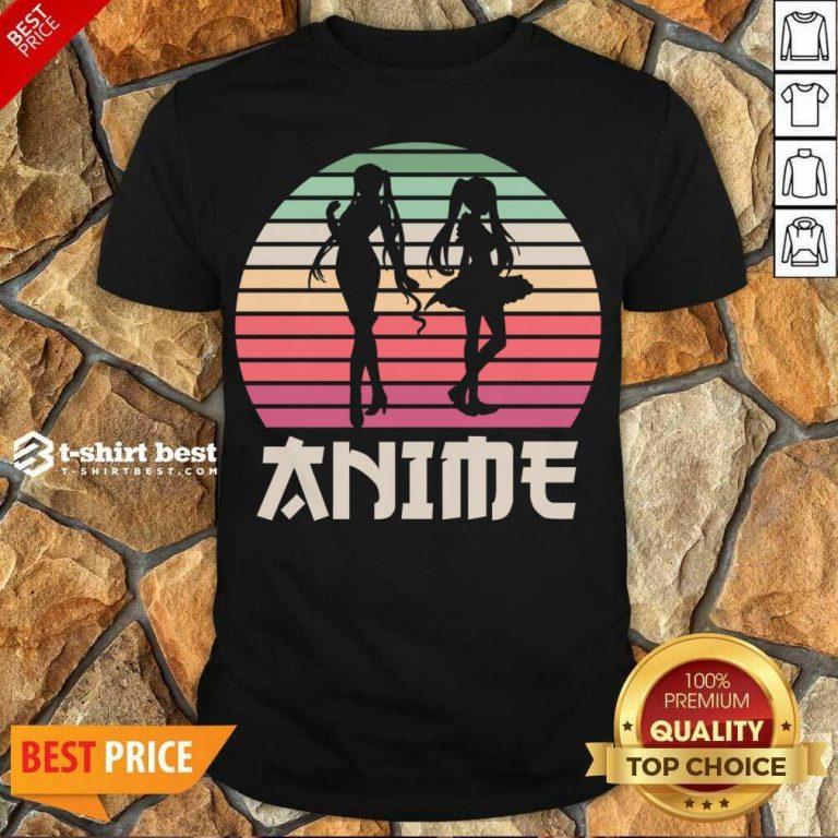Hot Anime Manga Japan Otaku Sunset Gift Shirt - Design By 1tees.com