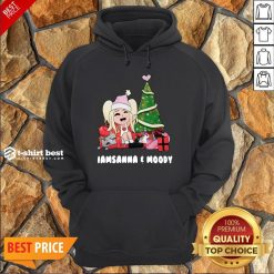 Nice I Am Sanna Moody Christmas Tree Hoodie