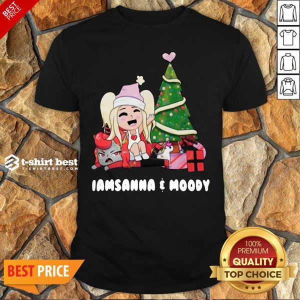 Nice I Am Sanna Moody Christmas Tree Shirt