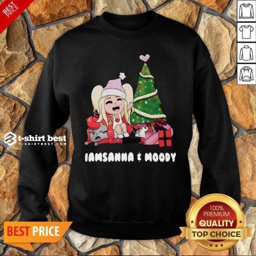 Nice I Am Sanna Moody Christmas Tree Sweatshirt