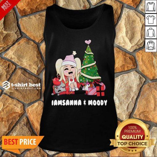 Nice I Am Sanna Moody Christmas Tree Tank Top