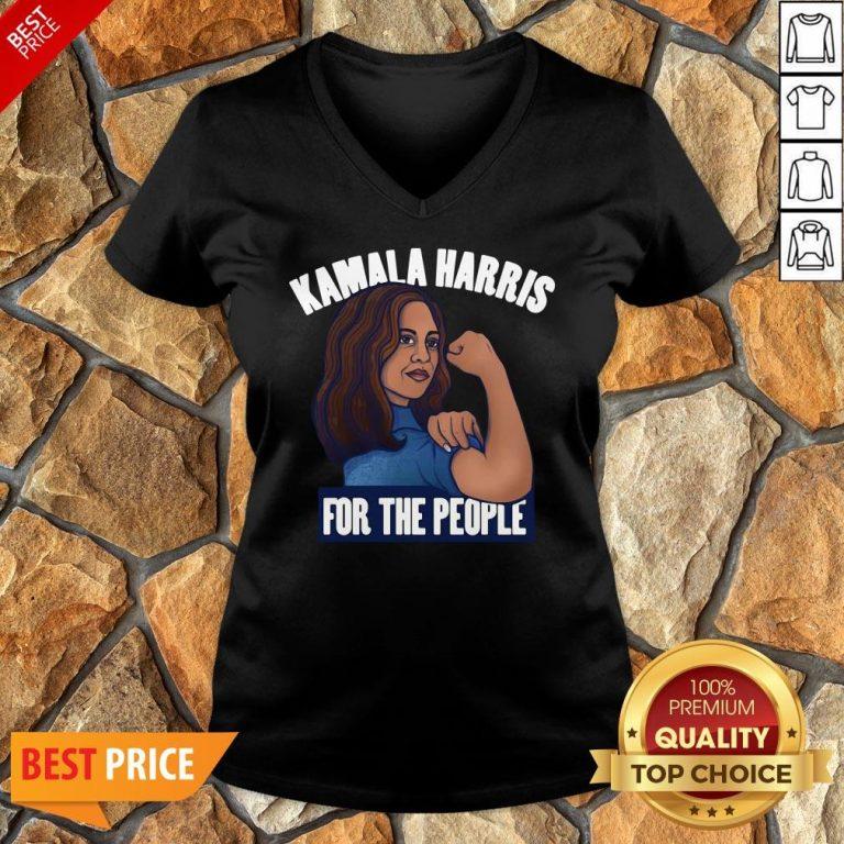 Nice Kamala Harris For The People Biden Harris 2020 V-neck