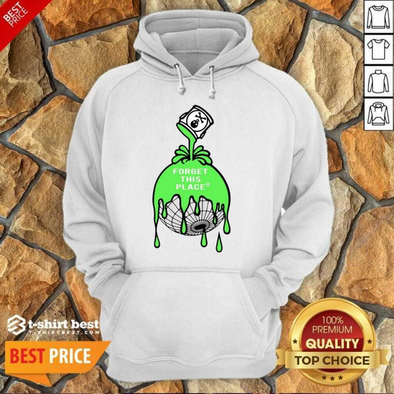 Official Forget This Place Globe Hoodie