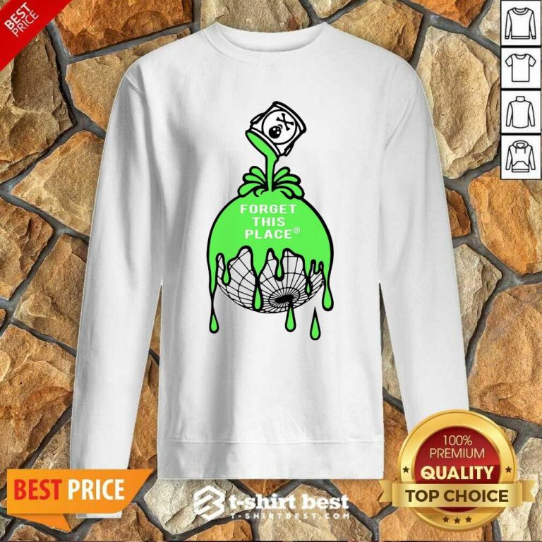 Official Forget This Place Globe Sweatshirt
