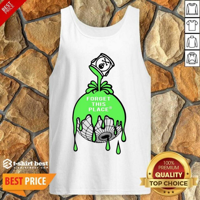 Official Forget This Place Globe Tank Top