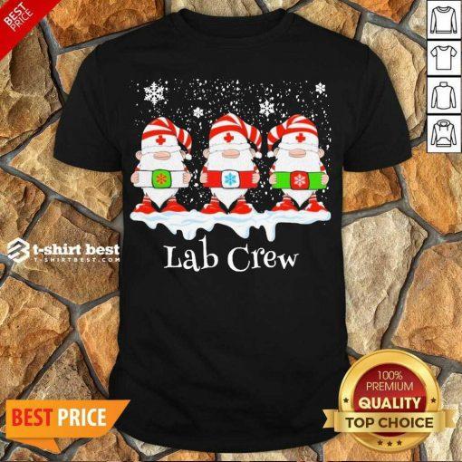 Official Gnome Nurse Lab Crew Merry Christmas 2020 Shirt - Design By 1tees.com