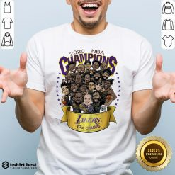Official NBA Champions Lanker 17 Champs LA 2020 Shirt