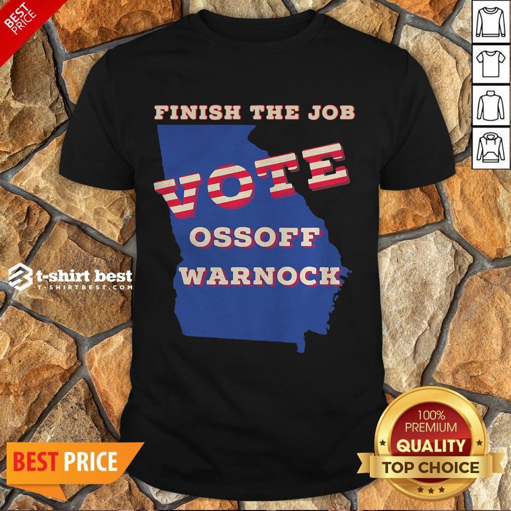 Official Ossoff Warnock Vote Georgia Senate Shirt