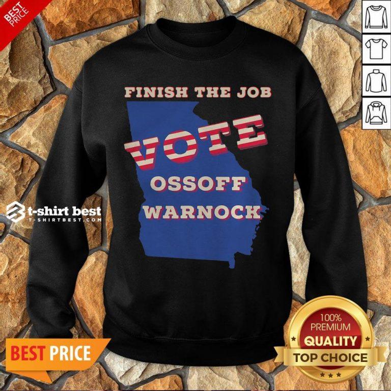 Official Ossoff Warnock Vote Georgia Senate Sweatshirt