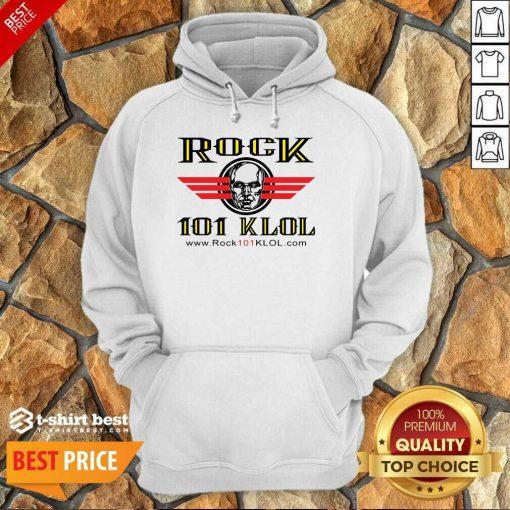 Official Rock 101 Klol Hoodie