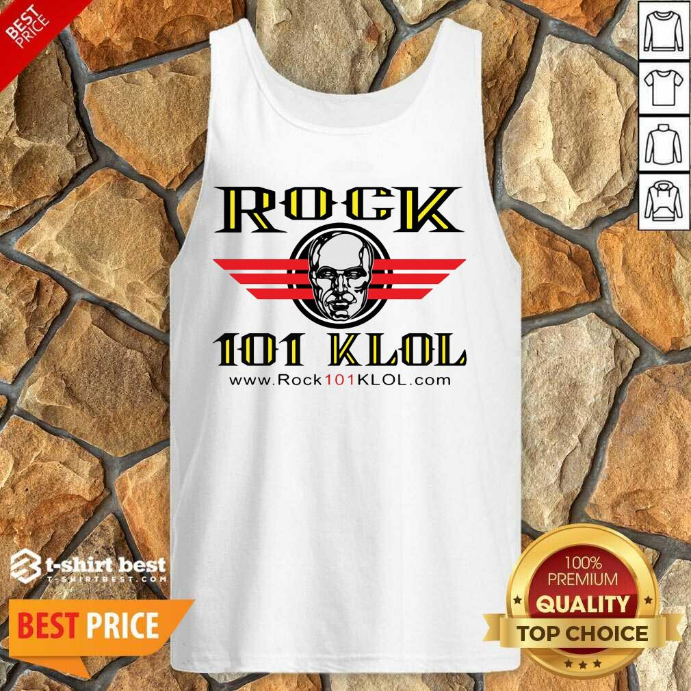 Official Rock 101 Klol Tank Top