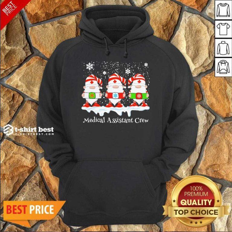 Gnome Nurse Medical Assistant Crew Merry Christmas 2020 Hoodie - Design By 1tees.com