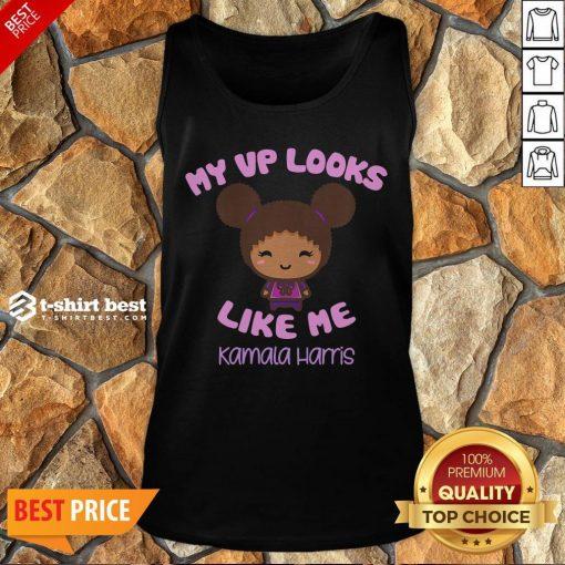 Premium My Vp Looks Like Me Cute Black Girls Toddler Tank Top