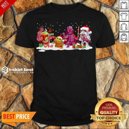 Premium Star Wars And Mandalorian Friend Merry Christmas 2020 Shirt - Design By 1tees.com