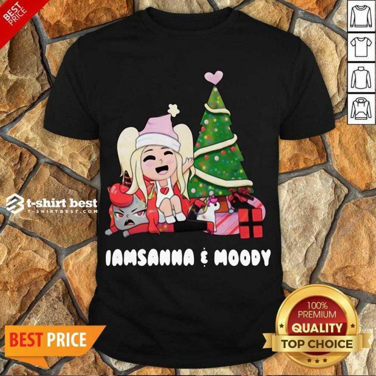Pretty Sanna Iamsanna E Moody Christmas Shirt - Design By 1tees.com