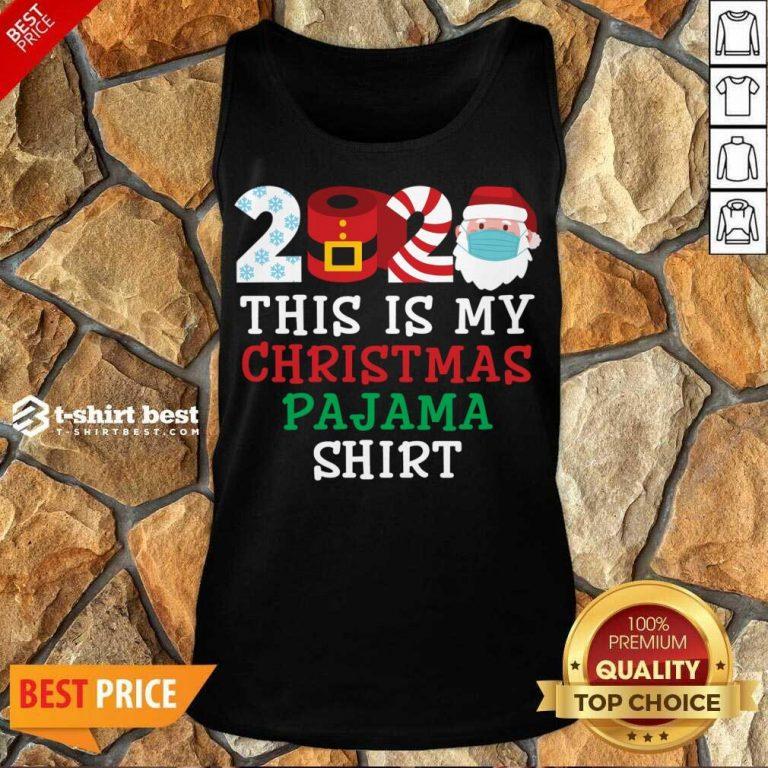 This Is My Christmas Pajama Shirt Family 2020 Tank Top - Design By 1tees.com