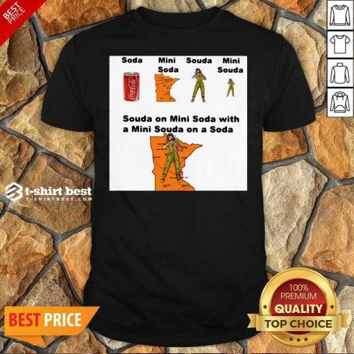 Top Souda On Mini Soda With A Mini Souda On A Soda Shirt