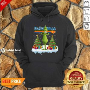 The Grinch Drink Dutch Bros Coffee Merry Christmas Hoodie - Design By 1tees.com