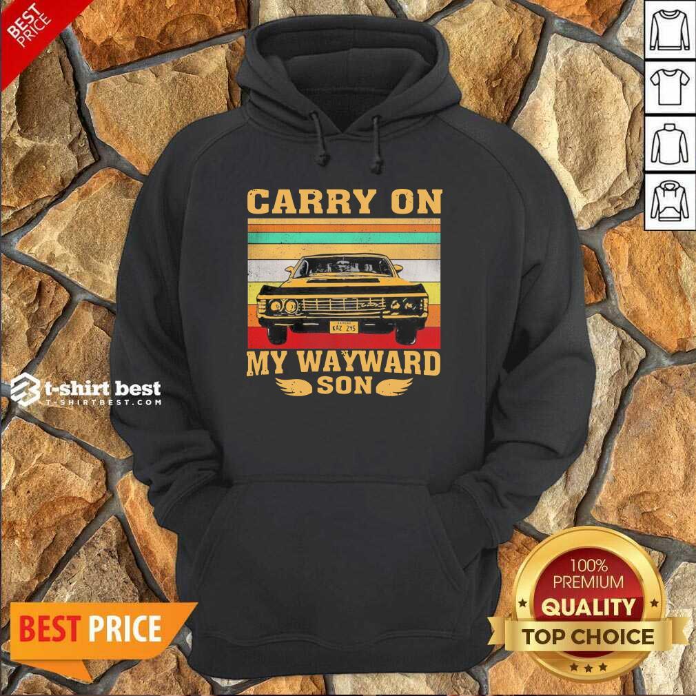 Carryon My Wayward Son Vintage Hoodie - Design By 1tees.com