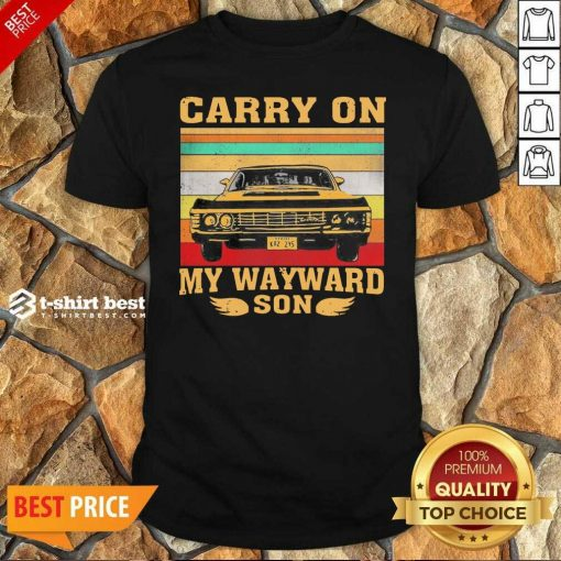 Awesome Carryon My Wayward Son Vintage Shirt - Design By 1tees.com