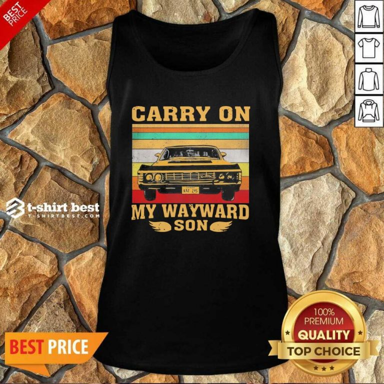 Carryon My Wayward Son Vintage Tank Top - Design By 1tees.com