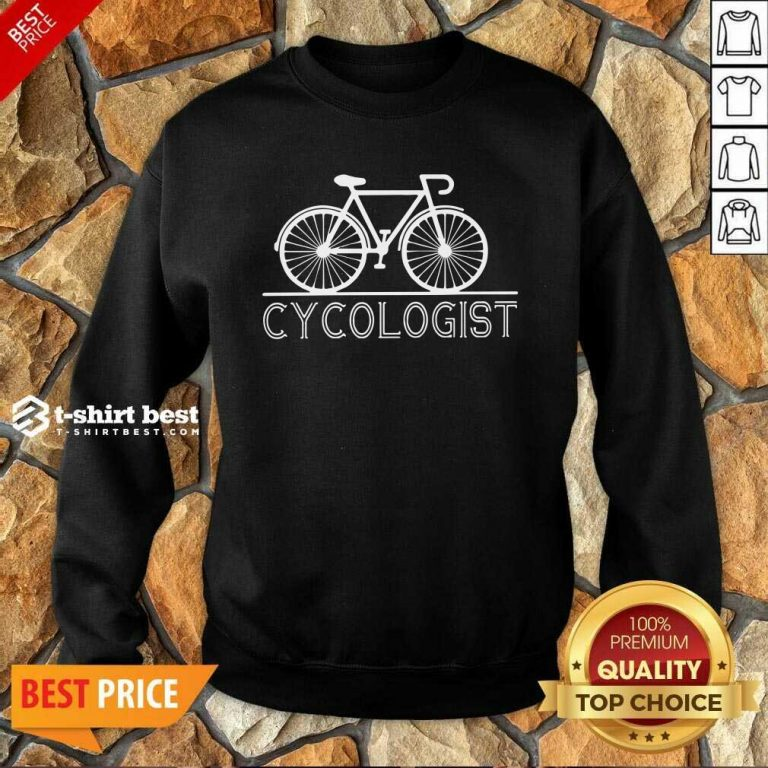 Cycologist Sweatshirt - Design By 1tees.com