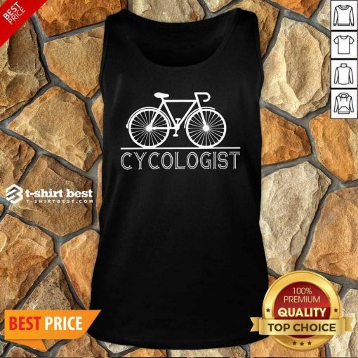 Cycologist Tank Top - Design By 1tees.com