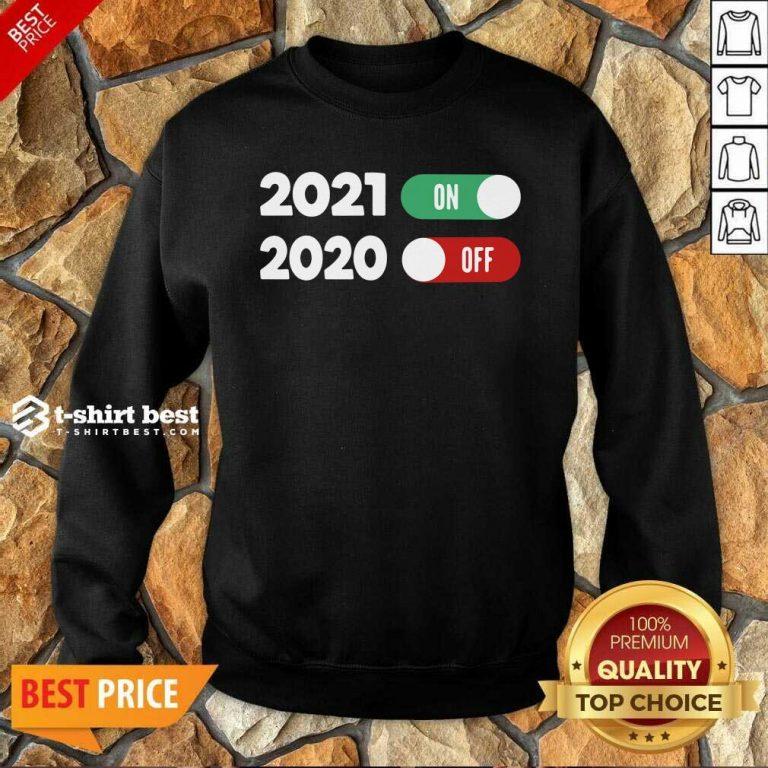 New Years Eve Happy New Year 2021 Sweatshirt - Design By 1tees.com