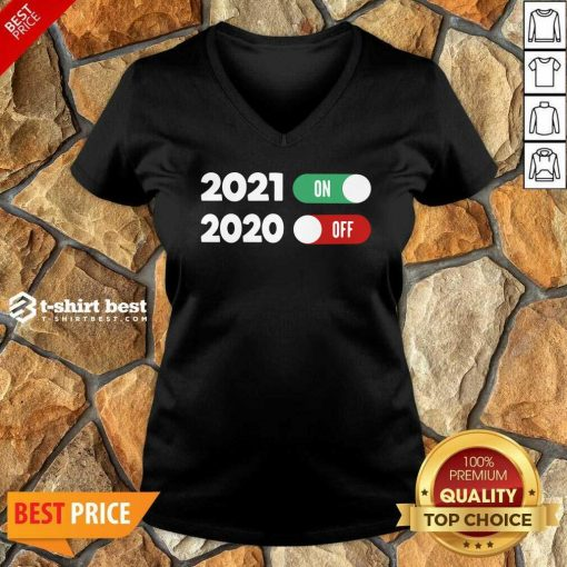 New Years Eve Happy New Year 2021 V-neck - Design By 1tees.com
