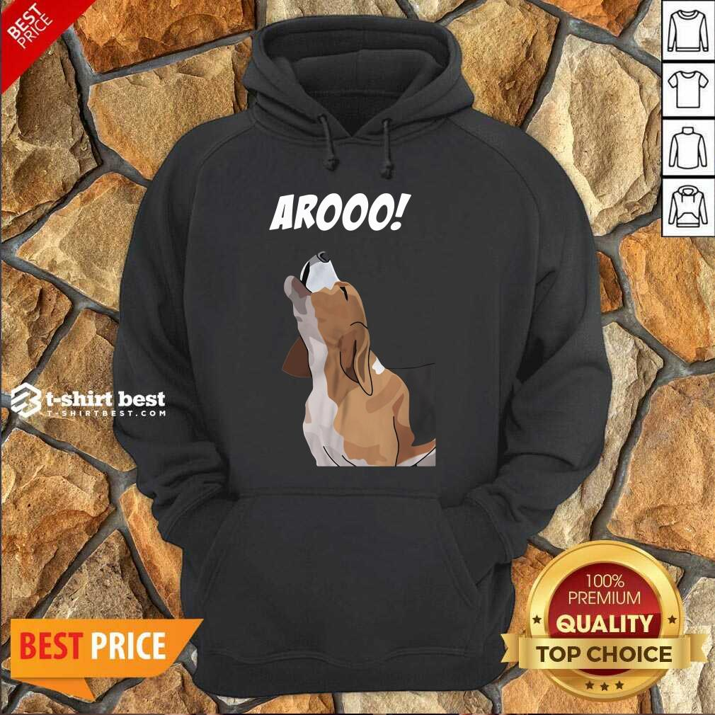 Aroo Beagle Hoodie - Design By 1tees.com