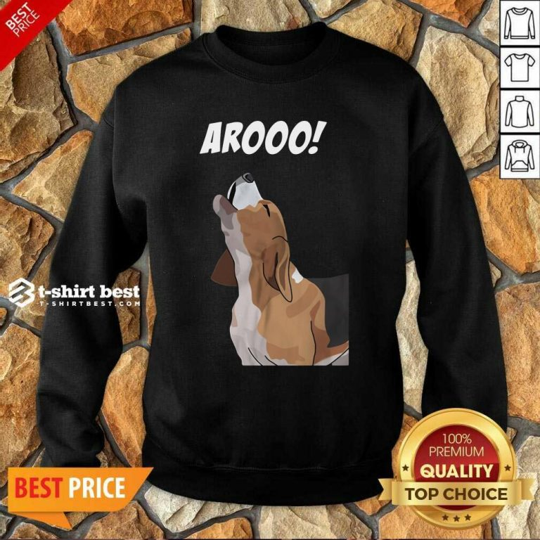 Aroo Beagle Sweatshirt - Design By 1tees.com