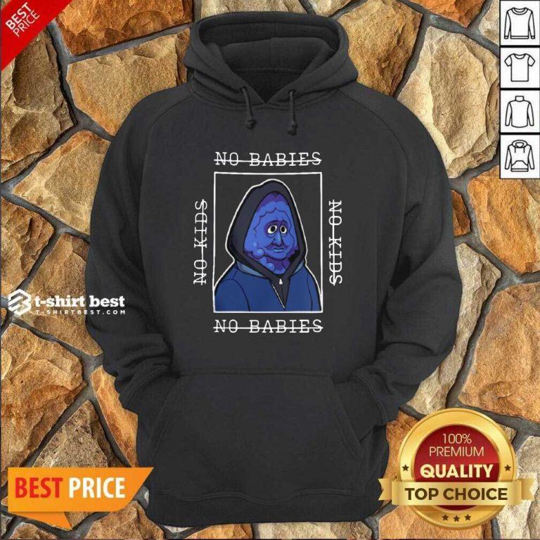 Berry Bebop Merch No Kids No Babies Hoodie - Design By 1tees.com